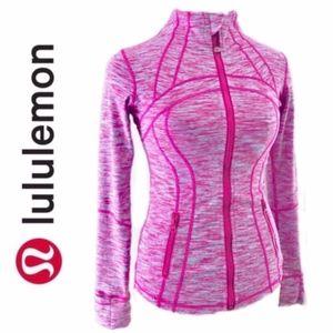 Lululemon Define Space Jacket Pink and Blue A016